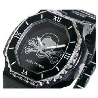 ARCA FUTURA アルカフトゥーラ 腕時計 ドクロ SKSS-BK