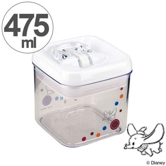 保存容器 ダンボ フライング コンテナ 角型 S 475ml キャラクター ( 保存ケース 食品 プラスチック製 )