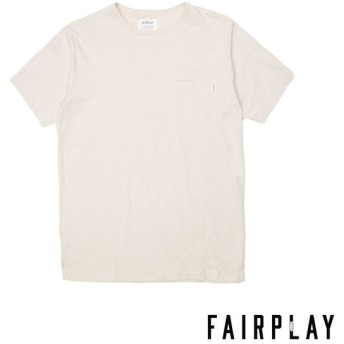 【FAIRPLAY BRAND/フェアプレイブランド】BENZO カットソーTシャツ / TAN