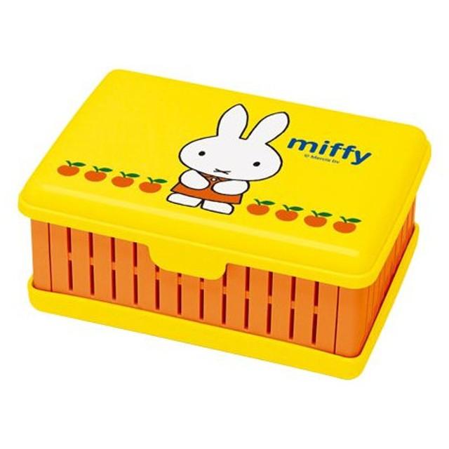 お弁当箱 折りたたみサンドイッチケース ミッフィー ( サンドウィッチケース 1段 ランチボックス )