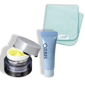 ORBIS(オルビス) 夜用美白パック&美白BBセット オーガニックミニタオル付