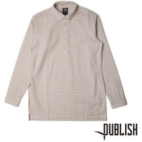 【PUBLISH BRAND/パブリッシュブランド】DARRYL 長袖シャツ / TAN