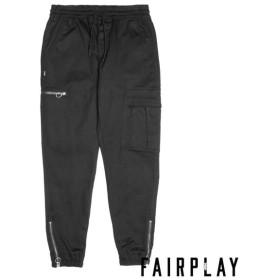 【FAIRPLAY BRAND/フェアプレイブランド】RYKE ジョガーパンツ / BLACK