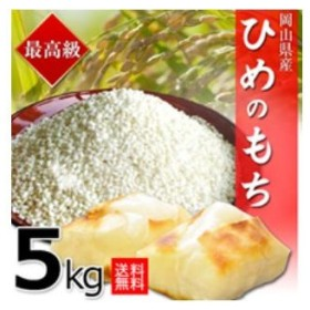 ヒメノモチ 5kg 30年岡山産 もち米 送料無料