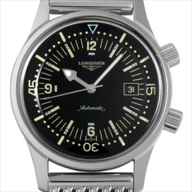 48回払いまで無金利 ロンジン レジェンドダイバー ブレス L3.674.4.50.6 新品 メンズ 腕時計