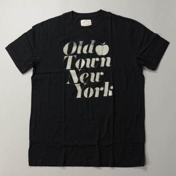 【2019 SUMMER SALE】J.CREW / ジェイクルー / NEW グラフィックTシャツOLD TOWN NY / ブラック