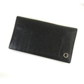 66ff9fa56b6b BVLGARI【ブルガリ】 ロゴ刻印 長財布(小銭入れあり) レザー レディース 【