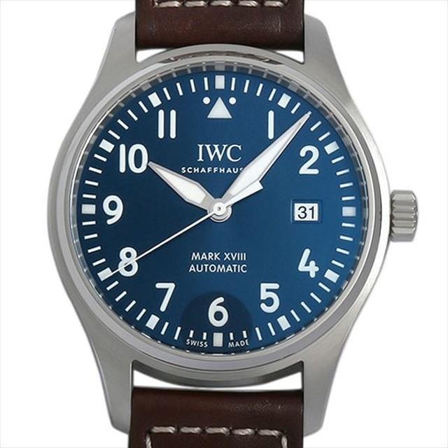 48回払いまで無金利 IWC パイロットウォッチ マーク18 プティプランス IW327004 新品 メンズ 腕時計 キャッシュレス5%還元