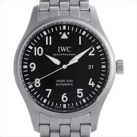 48回払いまで無金利 IWC パイロットウォッチ マーク18 IW327011 中古 メンズ 腕時計