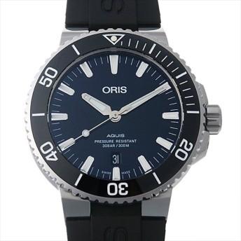 48回払いまで無金利 オリス アクイスデイト 733 7730 4135R 新品 メンズ 腕時計 キャッシュレス5%還元