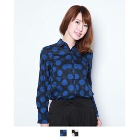 【SALE】T/Cドットプリントシャツ(ゼラールスポーツ)