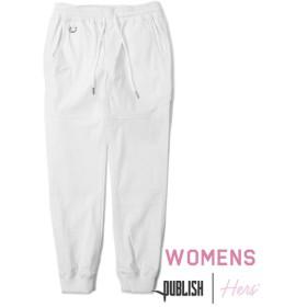 【PUBLISH BRAND/パブリッシュブランド】WOMEN'S LEGACY ジョガーパンツ / WHITE