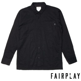【FAIRPLAY BRAND/フェアプレイブランド】SEN 長袖シャツ / BLACK