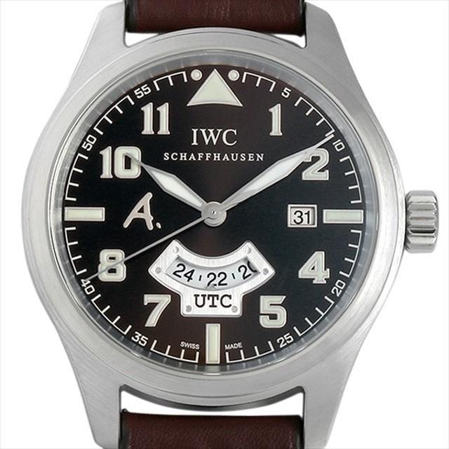 48回払いまで無金利 IWC パイロットウォッチ アントワーヌ・ド サン-テグジュペリ IW326104 中古 メンズ 腕時計 キャッシュレス5%還元