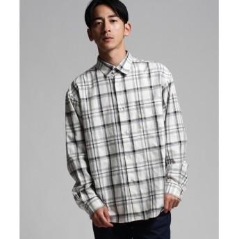 tk.TAKEO KIKUCHI / ティーケー タケオキクチ TCオーバーサイズチェックシャツ