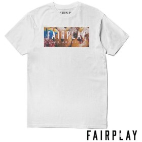 【FAIRPLAY BRAND/フェアプレイブランド】DONUTS Tシャツ / WHITE