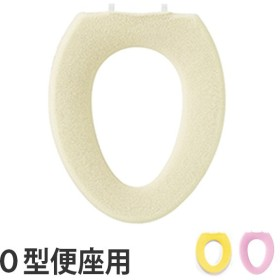 O型便座カバー デイジーマルシェ ( トイレ 便座カバー O型 )