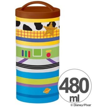 お弁当箱 トイ・ストーリー ICONIC ボトル型 3段 縦型 480ml キャラクター ( タテ型 ランチボックス 食洗機対応 )