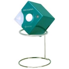 超小型センサーライト(乾電池式) エコパキューブ グリーン SL-660-GR 代引不可