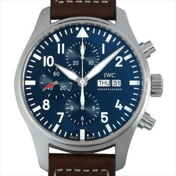 48回払いまで無金利 IWC パイロットウォッチ クロノグラフ プティプランス IW377714 新品 メンズ 腕時計 キャッシュレス5%還元