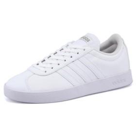 adidas(アディダス) VL COURT 2.0 W(VLコート2.0W) B42314 ランニングホワイト/ランニングホワイト/サイバーメット|スニーカー レディース