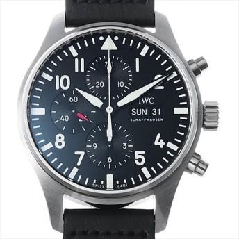 48回払いまで無金利 IWC パイロットウォッチ クロノグラフ IW377709 中古 メンズ 腕時計 キャッシュレス5%還元