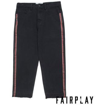 【FAIRPLAY BRAND/フェアプレイブランド】GEOFF スケートパンツ / BLACK