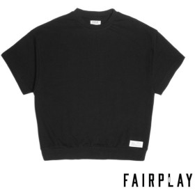 【FAIRPLAY BRAND/フェアプレイブランド】MOOKIE カットソーTシャツ / BLACK