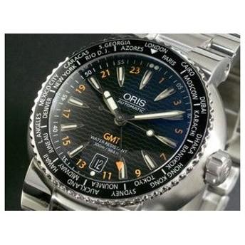 オリス ORIS 腕時計 TT1 GMT 66876088454M