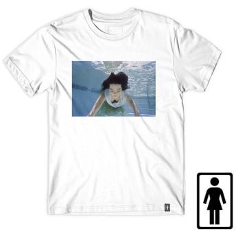 【GIRL SKATEBOARDS/ガールスケートボード】BJORK PREM TEE Tシャツ / WHITE