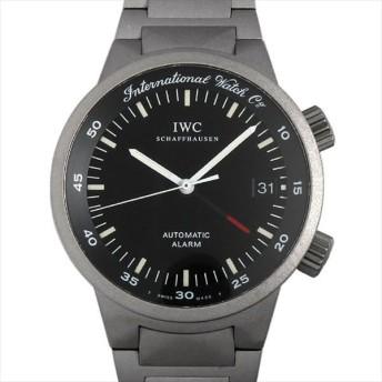48回払いまで無金利 IWC GSTアラーム IW353701 中古 メンズ 腕時計 キャッシュレス5%還元