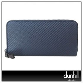 dunhill ダンヒル L2A218N ネイビー 長財布(小銭入れ有) CHASSIS