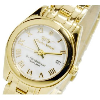 シャルル ホーゲル CHARLES VOGELE クオーツ レディース 腕時計 CV-9002-2