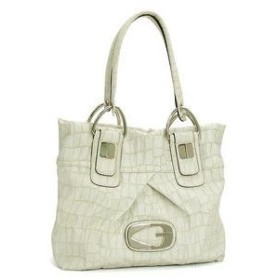 ゲス GUESS トートバッグ DREAM CATCHER CR242426 SMALL TOTE WHITE WT