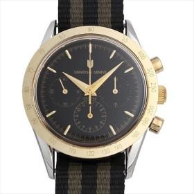 48回払いまで無金利 SALE ユニバーサルジュネーブ ゴールデンコンパックス 1950 284.445/925 中古 メンズ 腕時計