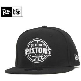 ニューエラ キャップ スナップバック 9FIFTY ベーシック NBA デトロイト ピストンズ ブラック NEW ERA [返品・交換対象外]
