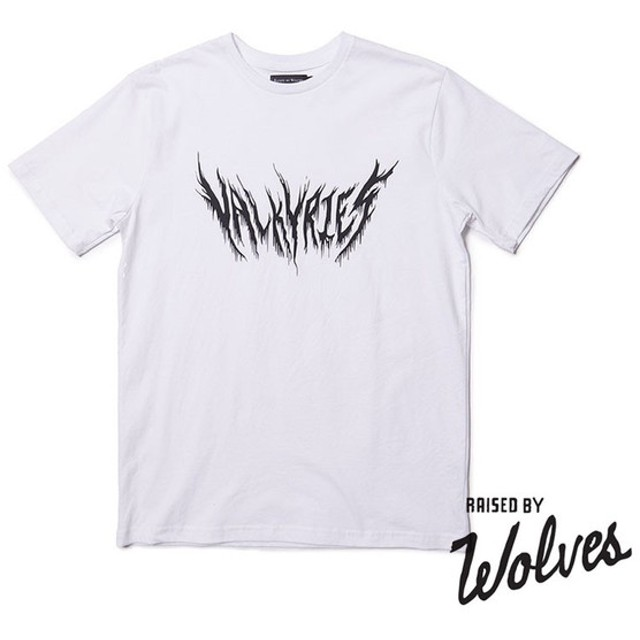 【RAISED BY WOLVES/レイズドバイウルブス】VALKYRIES T-SHIRT Tシャツ / WHITE