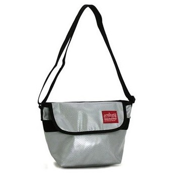 マンハッタンポーテージ manhattan portage ショルダーバッグ 1603-vl vinyl new york messenger bag silver
