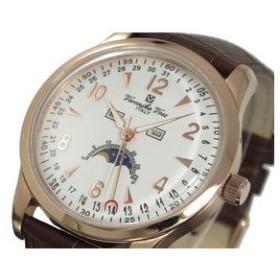 ヴェロニカボス 腕時計 メンズ ムーンフェイズ VV11502-PGWH