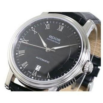 エポス EPOS 腕時計 自動巻き メンズ 3390RBK
