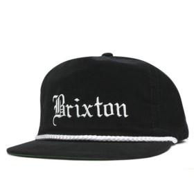ブリクストン スナップバックキャップ ウィッティア ブラック 帽子 [OSALE] [返品・交換対象外]