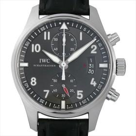 48回払いまで無金利 SALE IWC パイロットウォッチ スピットファイア クロノグラフ IW387802 中古 メンズ 腕時計