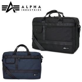 アルファ インダストリーズ ALPHA INDUSTRIES ブリーフケース 40010 カーネルシリーズ 3WAY メンズ ショルダーバッグ リュック ビジネスバッグ 2層 撥水 [PO10]