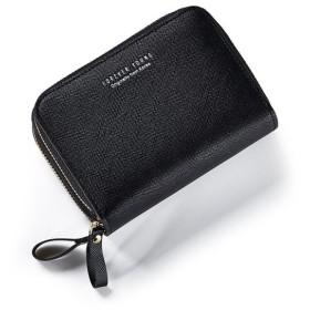 レディース 財布 ダブルファスナー 折り財布 ファスナー小銭入れ 手の平サイズ ビジネス
