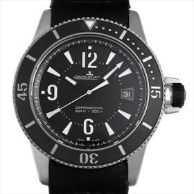 48回払いまで無金利 ジャガールクルト マスターコンプレッサー ダイビング オートマティック ネイビーシールズ Q2018470(162.8.37) 中古 メンズ 腕時計