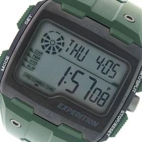 タイメックス TIMEX エクスペディション グリッドショック クオーツ メンズ 腕時計 時計 TW4B02600 グレー/カーキ 代引不可