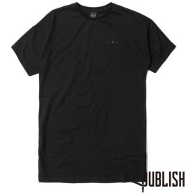 【Publish Brand/パブリッシュブランド】CETUS カットソーTシャツ / BLACK