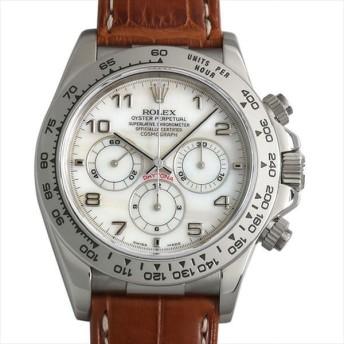 48回払いまで無金利 SALE ロレックス コスモグラフ デイトナ 16519NA ホワイトシェル/アラビア A番 中古 メンズ 腕時計