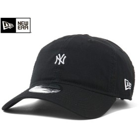 ニューエラ キャップ ストラップバック マイクロ ロゴ ニューヨーク ヤンキース ブラック 帽子