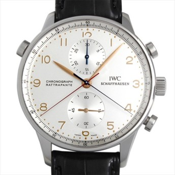 48回払いまで無金利 IWC ポルトギーゼ クロノグラフ ラトラパンテ 日本限定 3712 中古 メンズ 腕時計